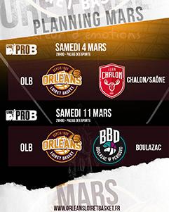 Orléans Loiret Basket - Boulogne-Levallois
